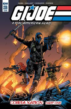 G.I. JOE: A REAL AMERICAN HERO #226: COBRA NATION, PART 1