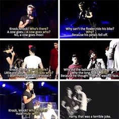 Just a few of Harold's TERRIBLE jokes. They're so bad. Endearing, but bad. -E
