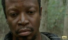 Bob Stookey (Lawrence Gilliard, Jr.) gets a backstory in Season 4, Episode 13 of AMC's The Walking Dead