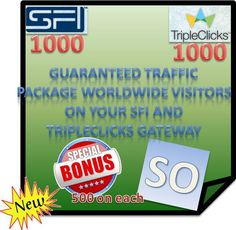 """We help you grow your business stronger, with """"Strong Team Builders"""" SFI/TripleClicks!"""
