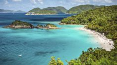 "Known as ""America's Caribbean Paradise,"" the US Virgin Islands comprises 3 islands -- St. Thomas, St. Croix and St. John. Visitors looking to immerse themselves in the rich history and culture of the islands should travel here in April and May when the peak season is over, and when airfare and hotel rates are less expensive. With miles of pristine beaches on St. John, to the rum distilleries and sugar cane plantations on St. ..."