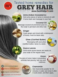 Grey Hair Reversal Treatments Causes and Cures to Stop Grey .- Grey Hair Reversal Treatments Causes and Cures to Stop Grey Hair Home Remedies For Graying Hair Must Read These Useful Health Tips Infused Waters That You Must Try - Grey Hair Home Remedies, Hair Remedies For Growth, Hair Growth, What Causes Gray Hair, Natural Hair Care, Natural Hair Styles, Grey Hair Natural Treatment, Grey Hair Natural Remedy, Natural Remedies
