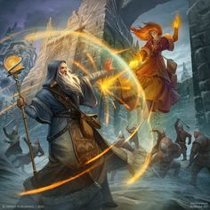 ArtStation - Frostgrave cover, Dmitry Burmak