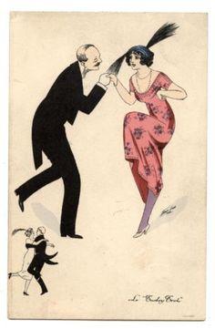 XAVIER-SAGER-COUPLE-DE-DANSEURS-BELLE-ePOQUE-DANCE-LE-TURKEY-TROT-1914