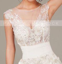 Very Sexy/wedding gown/bridal dress/bride/custom made/plus size/prom dress/13065