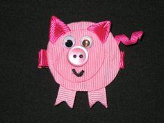 pig ribbon sculpture - Google Search