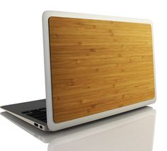 Grove Bamboo MacBook Pro Skin $29.00 www.grovemade.com #Mac #Bamboo  I want a grove made iPhone case.