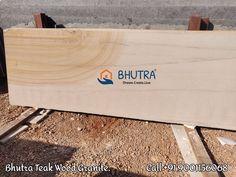 Granite Slab, Granite Stone, Teak Wood, Wood Design, Bamboo Cutting Board, Interior And Exterior, Stones, Smooth, Beige