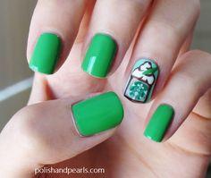Starbucks coffee nails!