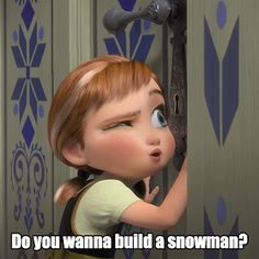 Small amount of snow on your weekend and your friend asks you; - GIF