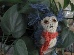 "#Crochet #Amigurumi worm from the movie ""Labyrinth"""