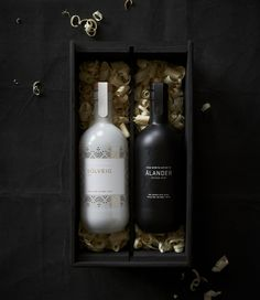 Far North Spirits by http://cargocollective.com/jenneystevens/Solveig-Gin