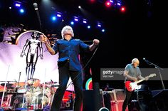 Roger Daltrey (L) and Pete Townshend of The Who perform live at The SSE Arena Wembley on February 13, 2016 in London, United Kingdom.