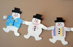 How to make Holiday Paper Chains