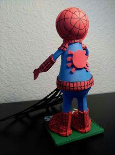 Spider-man atras