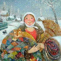Illustration by Olga Velichko