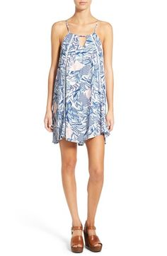 Paper Crane Print Shift Dress available at #Nordstrom