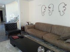 פזית שביט אדריכלים Pazit Shavit Architects - עיצוב פנים-פרטי Sofa, Couch, Projects, Furniture, Home Decor, Log Projects, Settee, Settee, Couches