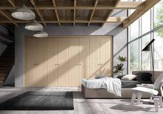 Dressingsysteem in eik, verkrijgbaar bij Top Interieur in Izegem en Massenhoven