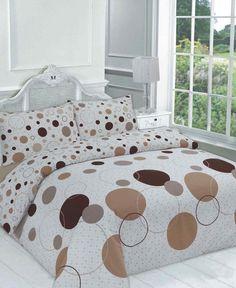 Noah Duvet Quilt Bedding Set | Choc – Linens Range