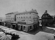 Brückenplatz Urfahr Louvre, Mansions, House Styles, Building, Travel, Image, Linz, Historical Pictures, Mansion Houses