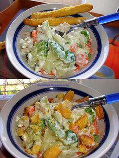Προσωπικό Ημερολόγιο Αλμυρών Και Γλυκών Δημιουργιών Guacamole, Thai Red Curry, Salads, Recipies, Cooking Recipes, Diet, Chicken, Healthy, Ethnic Recipes