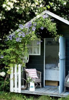 25 sweet and inspiring garden house ideas – Garden Projects