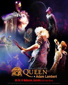 Poster 08.29.14 Melbourne, Australia Rod Laver Arena