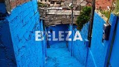 Grupo Boa Mistura cria intervenção urbana na comunidade de Brasilândia, em São Paulo (Foto: Boa Mistura)