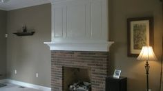 fireplace makeover - YouTube