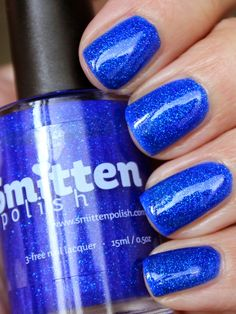 NAILTASTIC: Smitten Polish Radiantly Royal