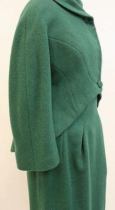 Suit  Designer:Charles James (American, born Great Britain, 1906–1978) Date:1961–62 Culture:American Medium:wool