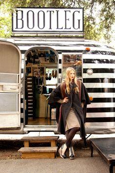 Heels on Wheels--Bootleg shoe boutique store on wheels