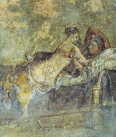 The lovers -Pompeii