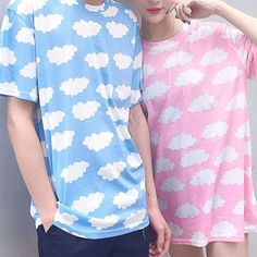 """SponsorshipReview&AffiliateProgramopening! Material:cotton Style:harajuku fashion,cute,lovely kawaii,sweet,kfashion,jfashion,  Color:blue,pink,  Size:free size Shoulder:43cm/16.77"""", Bust:102cm/39.78"""", Length:68cm/26.52"""", Sleeve length:20cm/7.8"""",  Tips: *Please double check above size and consider your measurements before order..."""