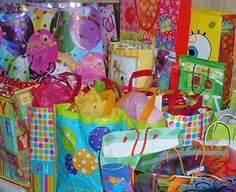 What to Include In The Birthday Bags Items should be suitable for kids ages 3-12. About8-10 new items should go …