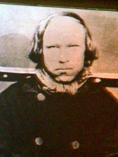 Ole Høiland (1797 - 1848)  photographed in 1840 - Norwegian gangster