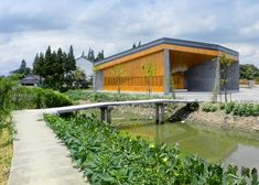 Six-sided community centre in Shanghai by Scenic Architecture Office
