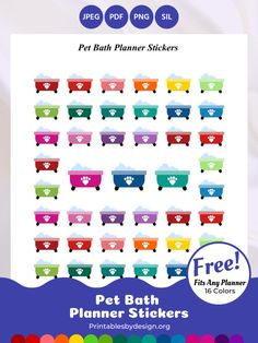 Planner Sticker Categories – Printables by Design - Earn Money Weekly Meal Planner, Free Planner, Printable Planner, Happy Planner, Printables, Planner Ideas, Printable Stickers, Planner Stickers, Erin Condren Life Planner