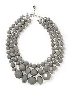 Kate Spade New York Triple Strand Necklace | Piperlime