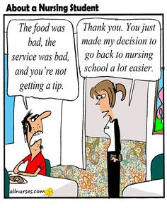 Nursing is better than what is out THERE. What do you think?