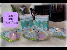 Easter 2017 Tsum Tsum Scented Blind Boxes & Pastel Blind Bags Unboxing