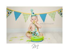 First Birthday Pennant Style Banner MADE TO MATCH Baby Boy / Toddler or Girl…