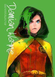 Damian Wayne aka Robin