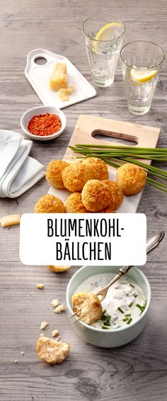 Blumenkohl-Bällchen