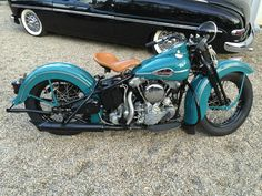 Beautiful Knuckle – 1941 Harley-Davidson FL-Beautiful Knuckle – 1941 Harley-Davidson FL Harley-Davidson FL – Right Side - Vintage Harley Davidson, Harley Davidson Images, Classic Harley Davidson, Hd Motorcycles, Vintage Motorcycles, Harley Davidson Motorcycles, Hd Vintage, Vintage Bikes, Harley Knucklehead