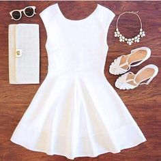 Pretty white outfit for Convention! No need for the sunglasses, but other than that it's perfect! #KKGHouston