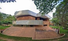 Auroville House Of Roger Anger | Viluppuram district, South India | Architect Roger Anger | photo by Anna Gregorczyk
