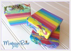 Missouri River Soap - LOVE Holly's soaps!