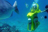 Mini-Sub adventure at Cabo San Lucas